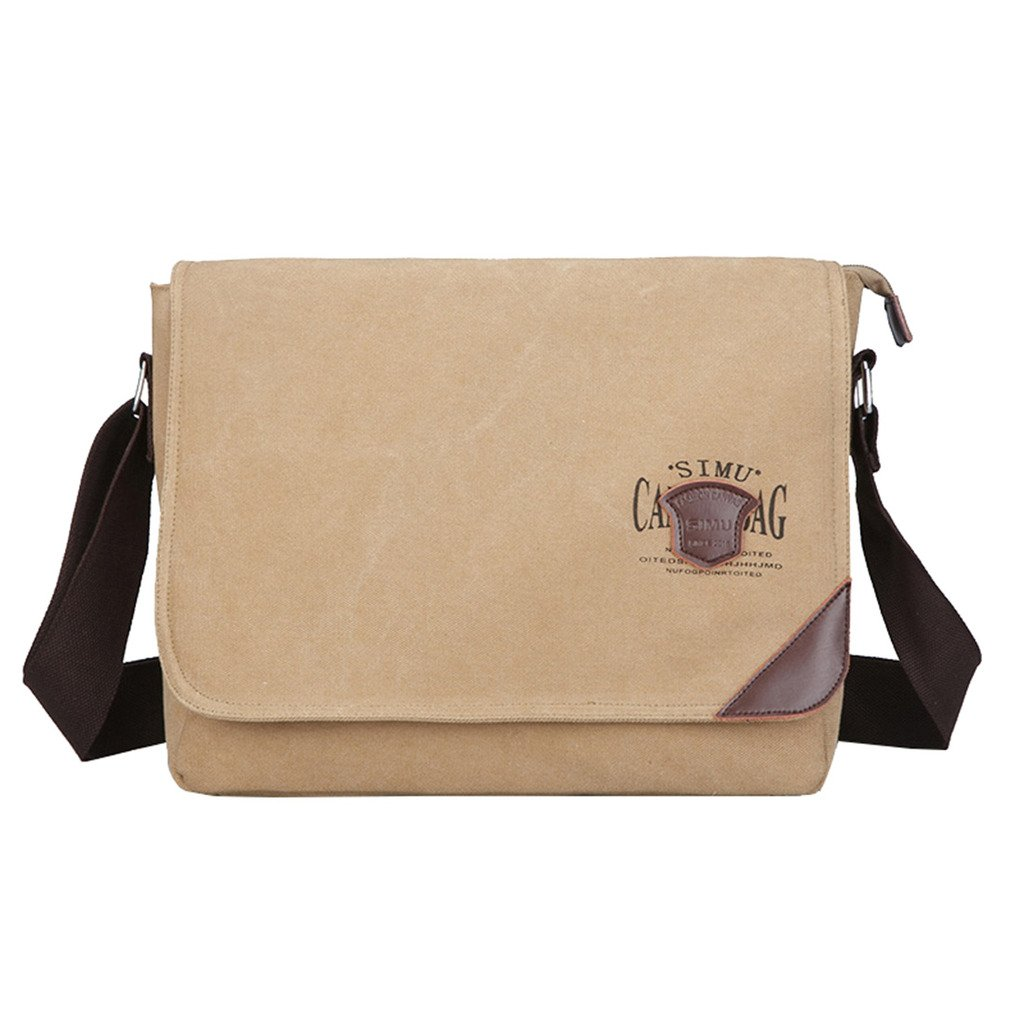 8346f1683d ... Working Bag Crossbody Bag outlet. Super Modern Mens Canvas Shoulder Bag  Messenger Bag Laptop Bag Computer Bag Satchel Bag Bookbag School
