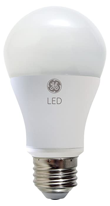 GE Lighting 92145 LED 11-watt (60-watt replacement), 800-Lumen A19 Outdoor Bulb with Medium Base, Soft White, 1-Pack