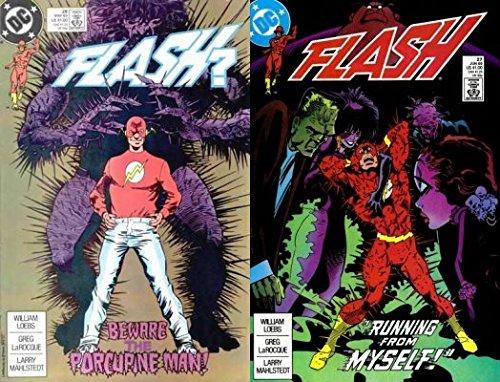 The Flash #26-27 (1987-2009) Limited Series DC Comics - 2 Comics