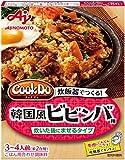 味の素 CookDo おかずごはん 韓国風ビビンバ用 90g