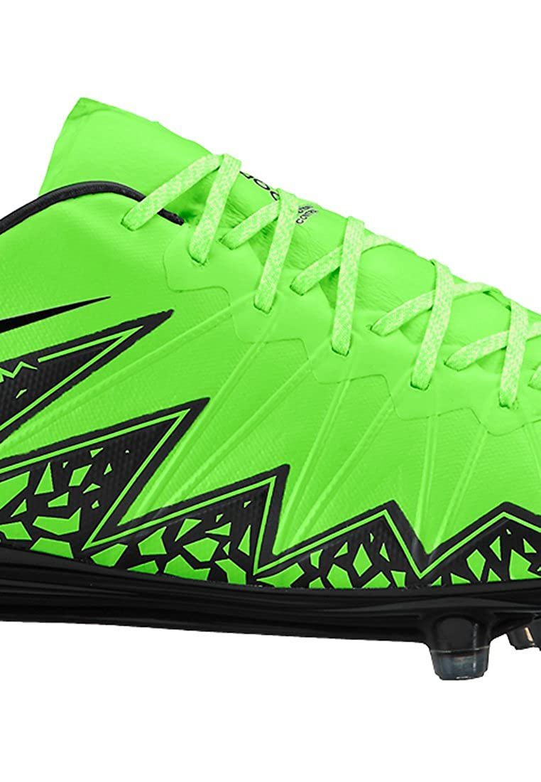 12a9f9ffa4a Amazon.com  Nike Hypervenom Phinish FG Soccer Cleat (Green Strike ...