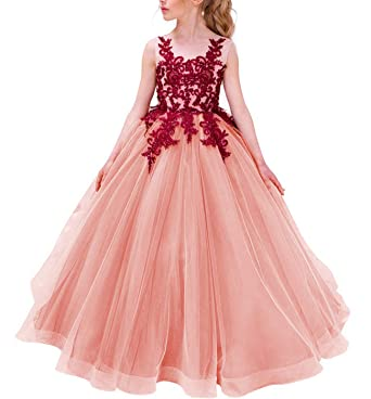 Pink Princess Ball Gowns for Girls