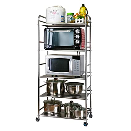 Amazon.com - Bakers Rack, Microwave Cart Oven Stand Spice ...