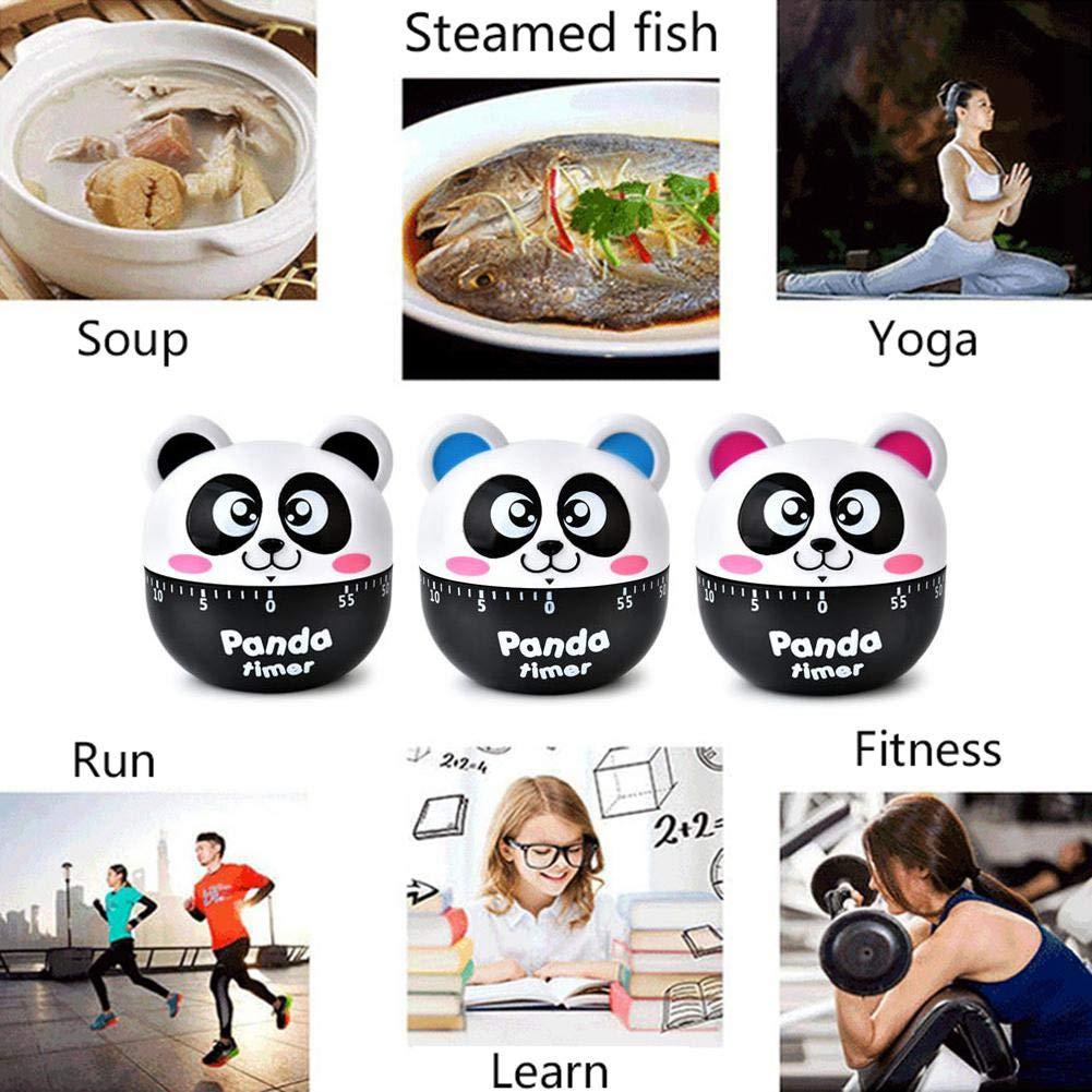 Amazon.com: Kitchen Timer, Cute Cartoon Panda Mechanical ...