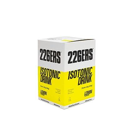 226ERS Isotonic Drink, Limón - Paquete de 20 x 20 gr - Total: 400