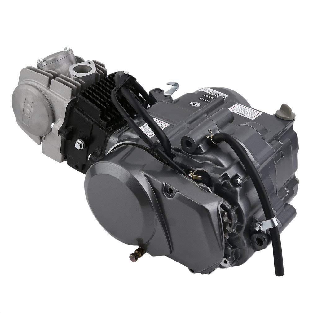 125cc Engine 4 Stroke Motor CATUO Premium Dirt Pit Bike Motorcycle Engine Motor Starter Carb Complete Kit for Honda XR50 CRF50 QR50 XR70 CRF70