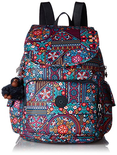 Kipling Ravier Printed Backpack, Dzdrlngmlt Cargo Lip Pencil