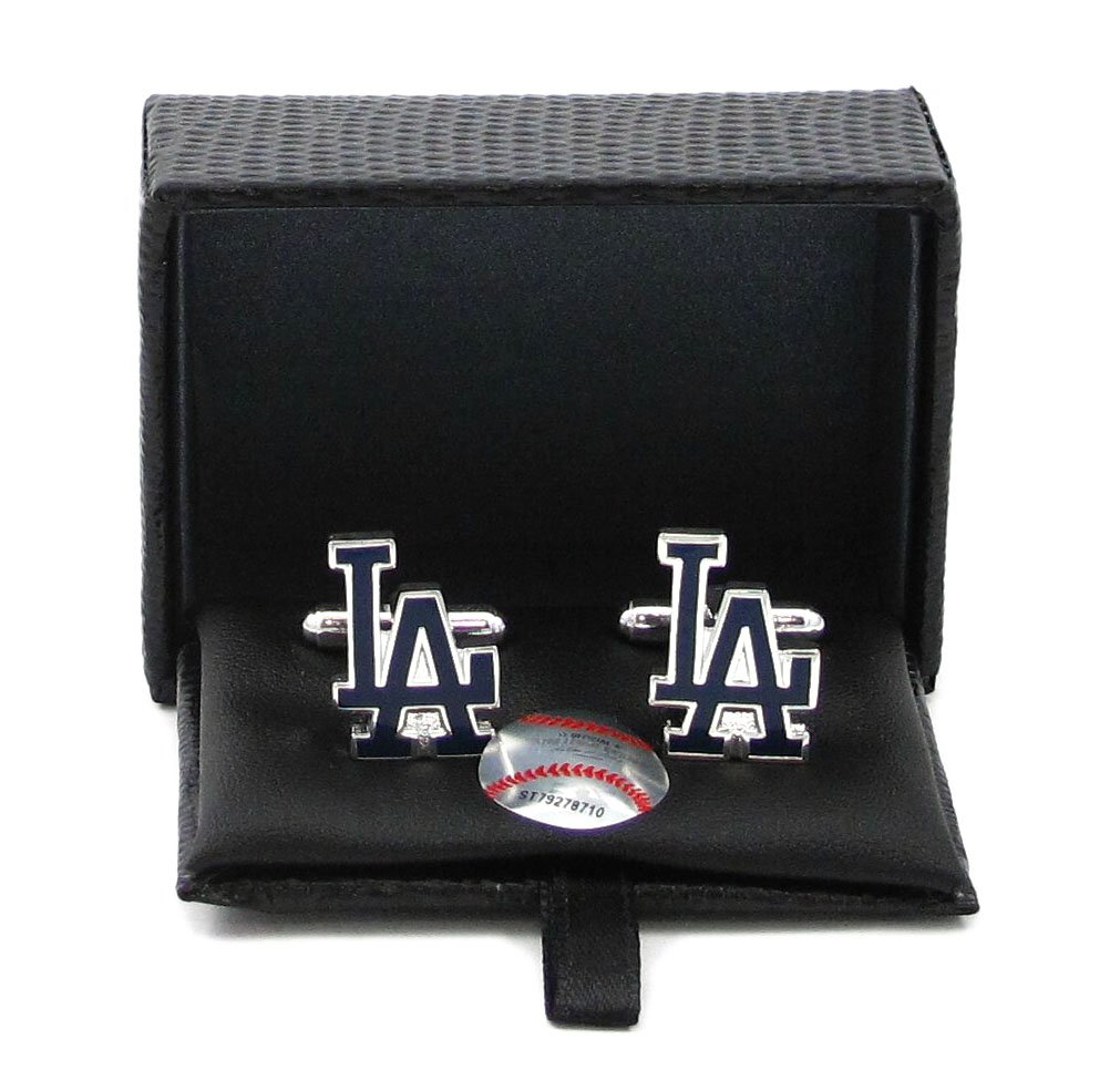 Los Angeles Dodgers - MLB Team Logo Shape Cufflinks