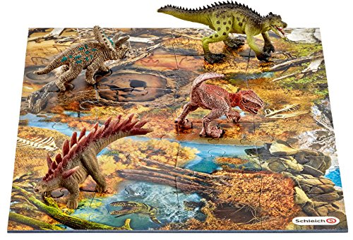 Schleich North America Mini Dinosaurs with Marshland Puzzle