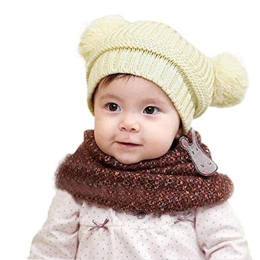 Amazon.com  Vicbovo Baby Winter Hat 241ad10916e