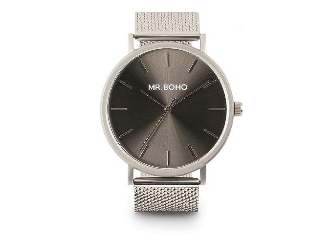 MR.BOHO Reloj Acero Inoxidable