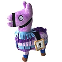 Peluche, Oyedens Plush Toy 2018 Hot For Fortnite Loot Llama Figura Bambola Morbida Peluche Animali Giocattoli (Viola 25cm)