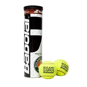 Babolat RG Fo X4 Pelota de Tenis, Unisex Adulto, Amarillo, Talla Única: Amazon.es: Deportes y aire libre