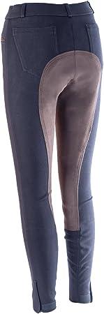 Pantalon d/équitation HKM by Reiterladen24 Pour femme Parement int/égral Basicline