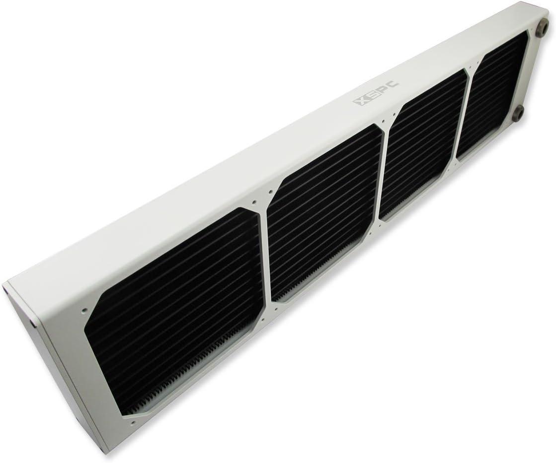 White 140mm x 4 XSPC AX560 Radiator Quad Fan