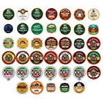 Custom Variety Pack Decaf Coffee Single Serve Cups for Keurig K Cup Brewers, 40 Count from Crazy Cups