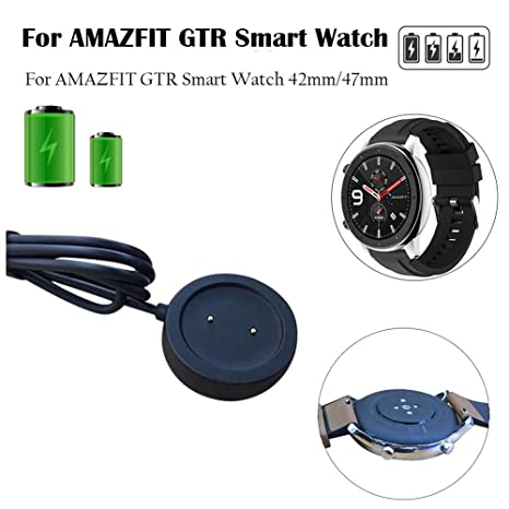 duquanxinquan Cargador para AMAZFIT GTR Smart Watch, Cable de ...
