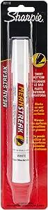 Sharpie Mean Streak Waterproof Marking Stick, 1 White Marker (85118PP)