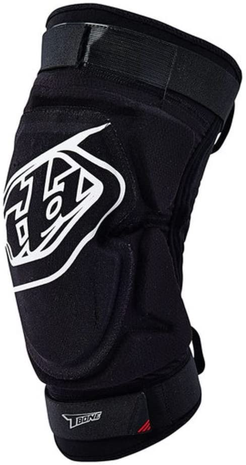 Troy Lee Designs T-Bone Adult Knee Guard Motocross Motorcycle Body Armor Black//X-Small//Small