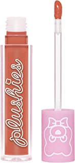 product image for Lime Crime Plushies Soft Matte Lipstick, Marmalade - Sheer Nude Peach - Blackberry Candy Scent - Long Lasting, Nude Lips - Soft Focus, Non-Opaque Lip Veil - 0.11 fl oz