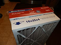 Us Home Filter Sc60 16x25x4 Merv 11 Pleated Air Filter