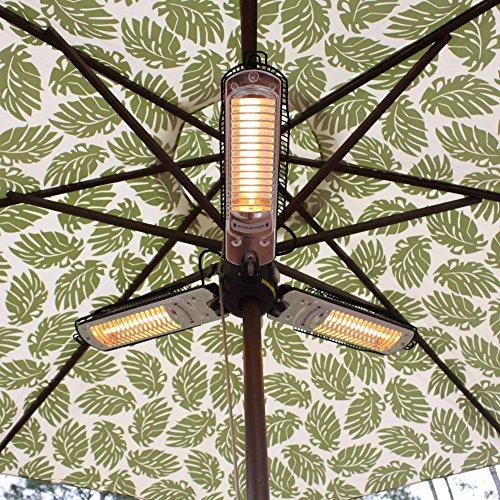 Fire Sense Umbrella Halogen Patio (Round Halogen Patio Heater)