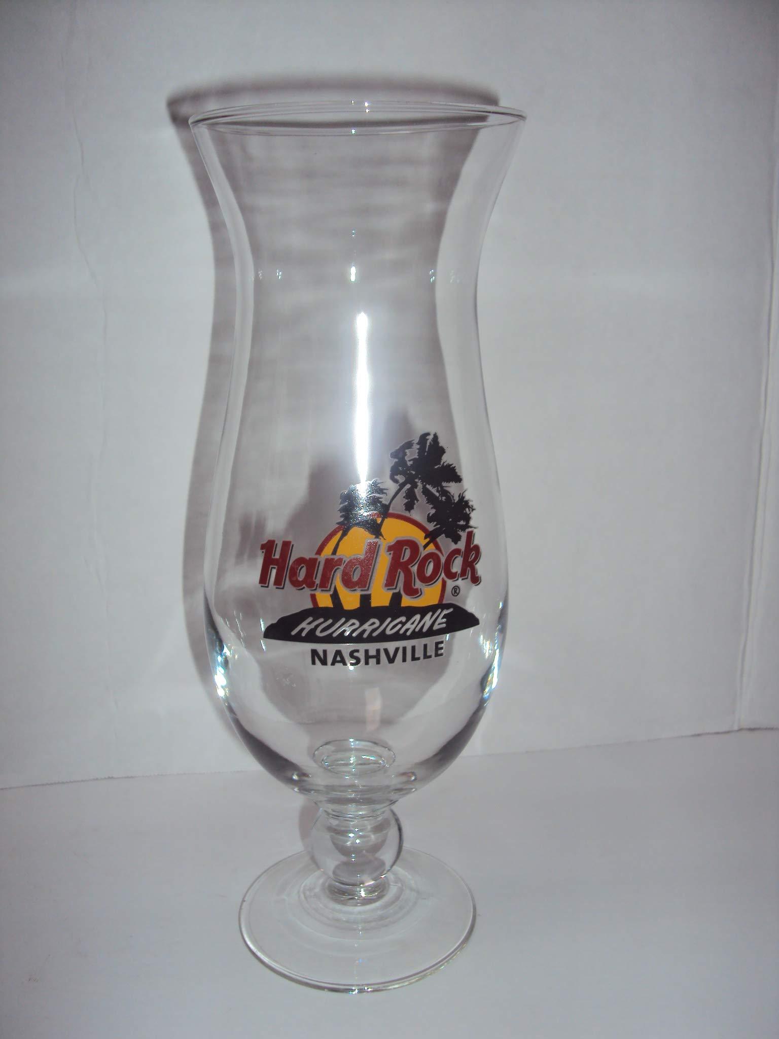 Hard Rock Cafe Nashville Hurricane Glass, Hard Rock Cafe Hurricane Glass