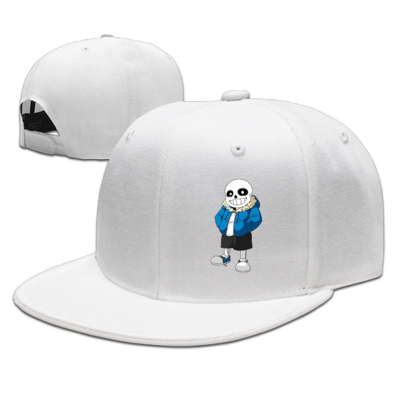 AGMPO Undertale Sans Flat Snapback Baseball Cap For Unisex