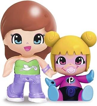 Pinypon - Figurita con bebé sorpresa, pack A (Famosa 700014088 ...