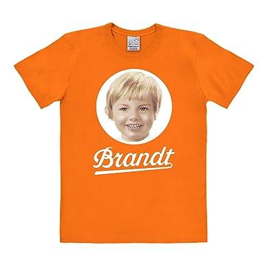 Logoshirt Brandt 70S-Zwieback Camisa, Naranja (Bright Orange), L para Hombre: Amazon.es: Ropa y accesorios