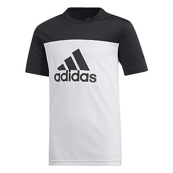 1b38fc8107b82 adidas Yb TR Eq Tee T-Shirt Garçon  Amazon.fr  Sports et Loisirs