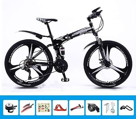 Bove Doble Disco Frenos Bicicleta MTB Plegable Bicicleta De ...