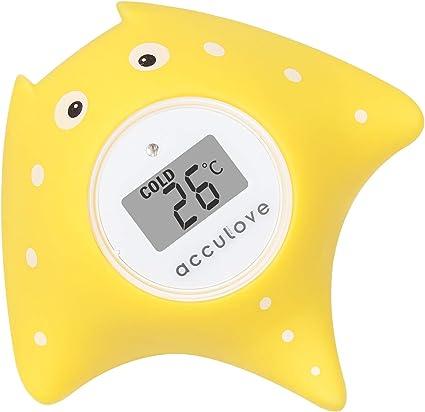 746 Thermomètre bain-poisson design-mesure-température de l/'eau-bébé sécurité