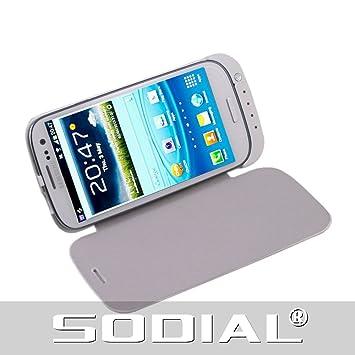 SODIAL(R) USB 3200mAh Cargador de Bateria de Beserva + Funda de ...