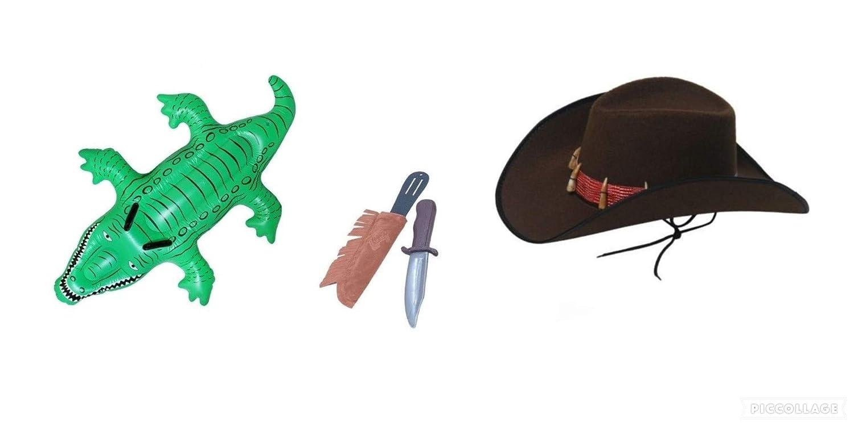 Seemeinthat Juego de Disfraz de cocodrilo para Adultos, diseño de ...