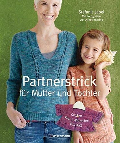 Partnerstrick für Mutter und Tochter: In vielen Größen - von 3 Monaten bis XXL