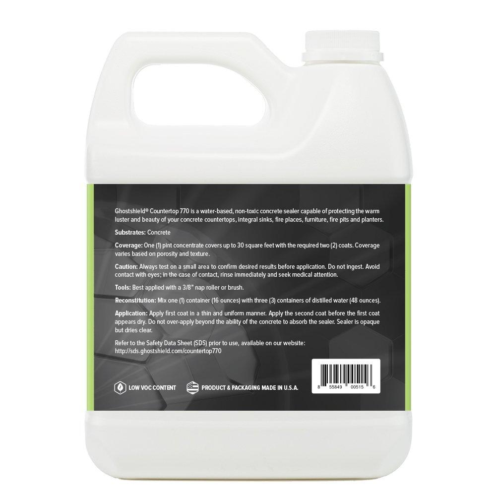 Countertop Sealer 770 - 16 oz. Penetrating Natural Finish Concrete ...