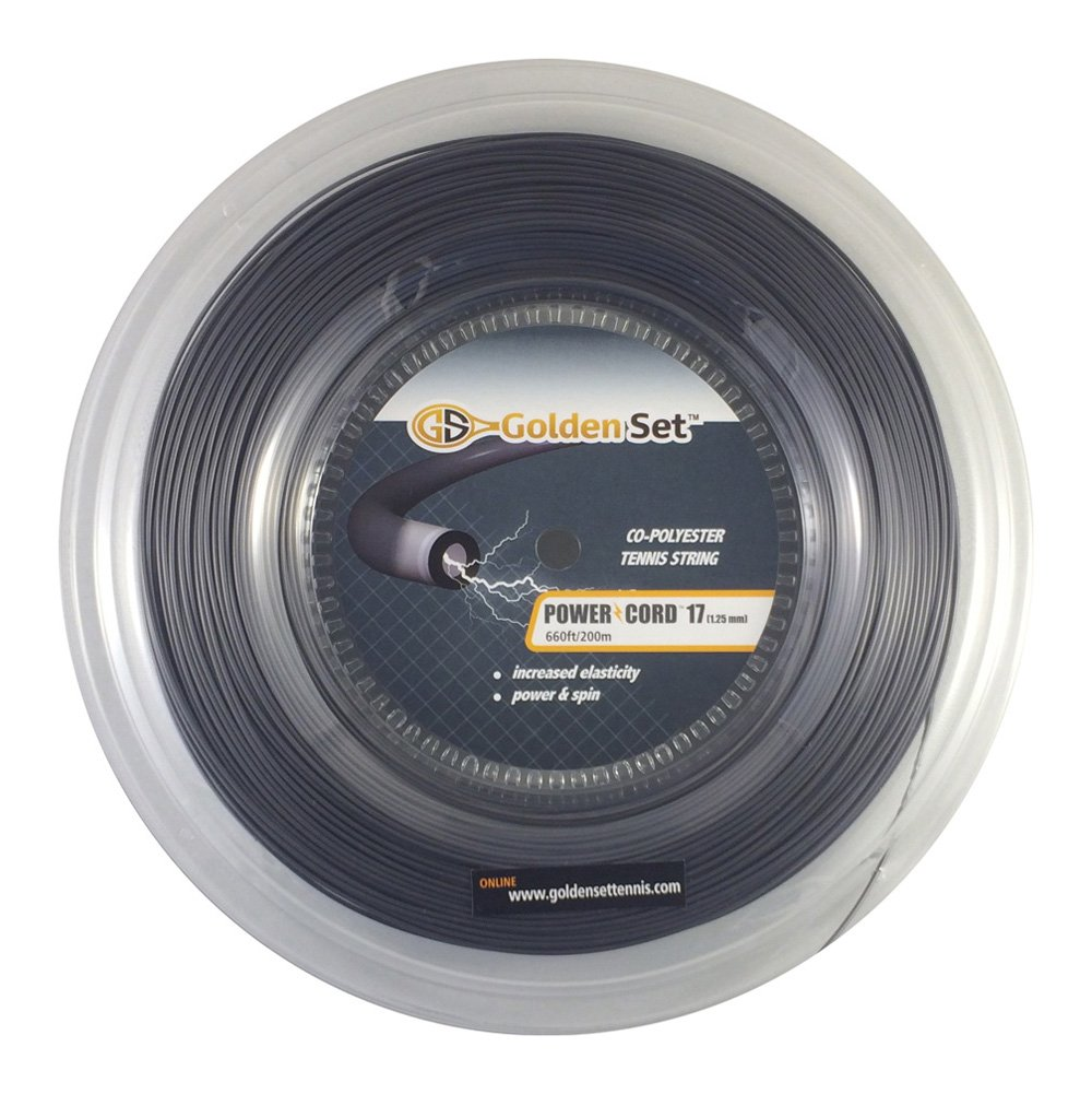 Golden Set Power Cord 17g Polyester Tennis String