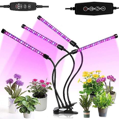 Luces de cultivo LED, lámparas de cultivo de plantas de 4 ...