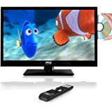 Pyle 21.5'' HD LED TV - 1080p HDTV with Built-in CD/DVD Player (PTVDLED22)