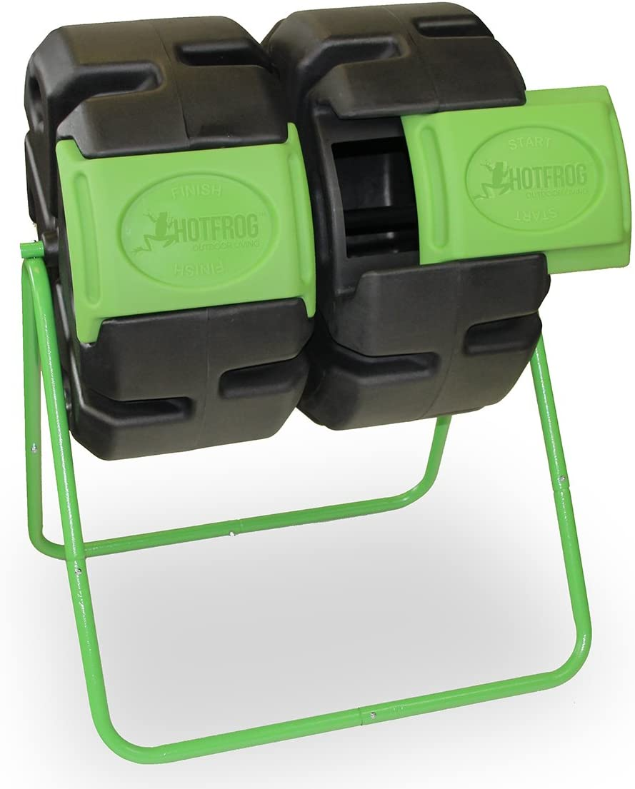 FCMP Outdoor Dual Body Tumbling Composter by HOTFROG