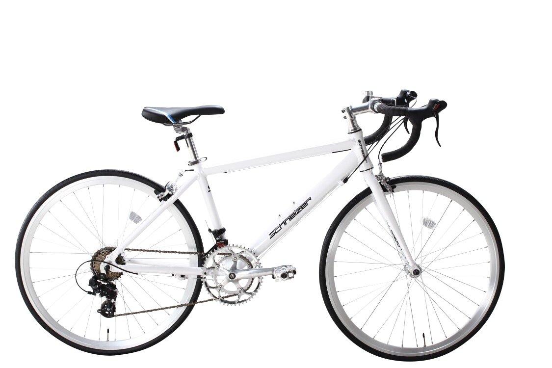 SCHNEIZER(シュナイザー) 自転車 MU650 本格派650Cコンパクトサイズ!ShimanoデュアルコントロールレバーSTI14速搭載 B01M19SJV9ホワイト 650C