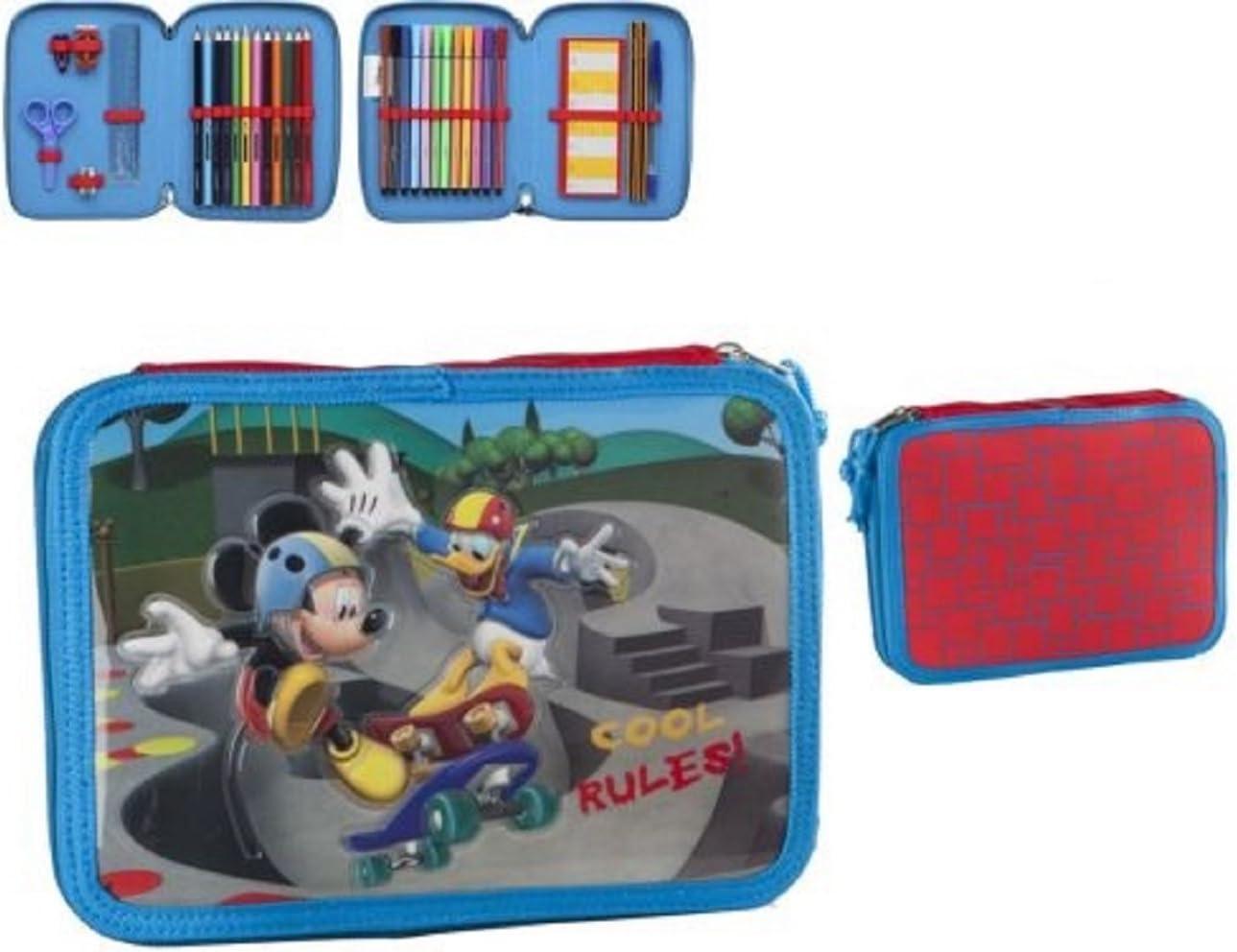 Atosa-27511 Disney Estuche Niño Mickey, Color Azul (27511): Amazon.es: Juguetes y juegos