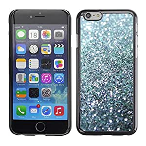 LOVE FOR Apple Iphone 6 Plus 5.5 Glitter Silver Sparkling Bling Platinum Personalized Design Custom DIY Case Cover