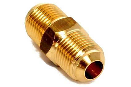 Klimaanlage Split Verbindungsnippel Messing f/ür 1//2 Zoll Rohr