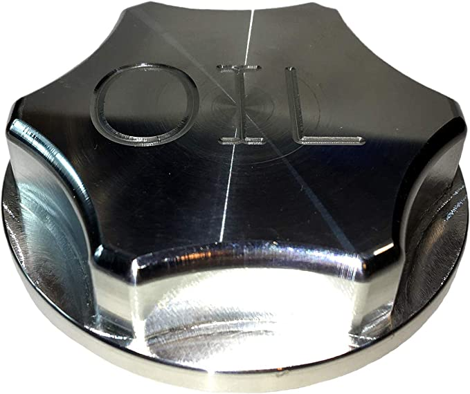 Sinister Diesel Oil Fill Cap for 1999-2010 Ford Powerstroke 7.3//6.0//6.4 and 2007.5-2019 Dodge Cummins 6.7C