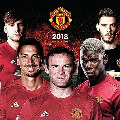2018 Manchester United FC Soccer Wall Calendar