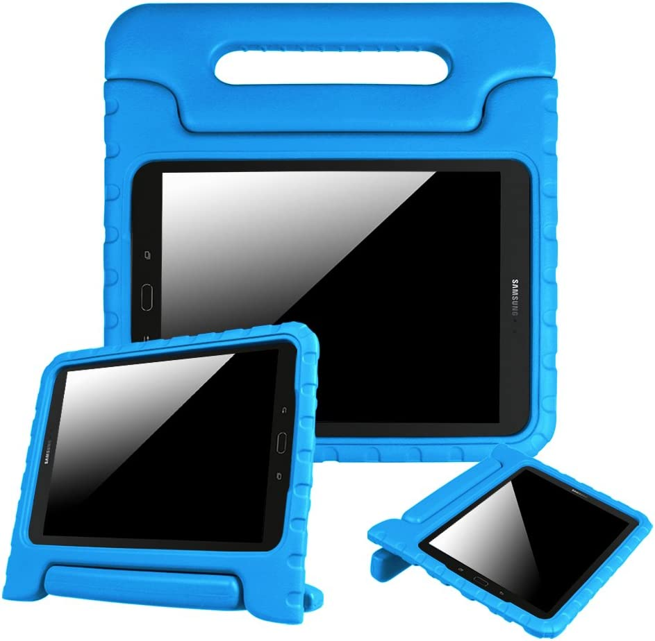 Fintie Case for Samsung Galaxy Tab S3 9.7, Light Weight Shock Proof Convertible Handle Stand Kids Friendly Cover for Samsung Galaxy Tab S3 9.7-Inch Tablet (SM-T820/T825/T827) 2017 Release, Blue