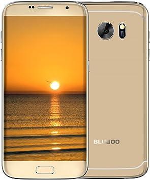 BLUBOO Smartphone, Edge Dual Curvy móvil 4 G Unlocked 5,5 Pulgadas ...