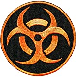Zombie Response Team Biohazard Patch Iron on Embroidered Patch